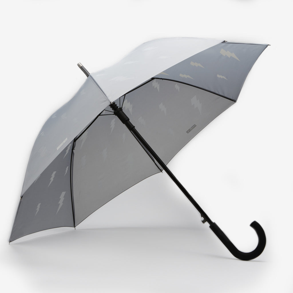 Standard Grey Bolt Umbrella