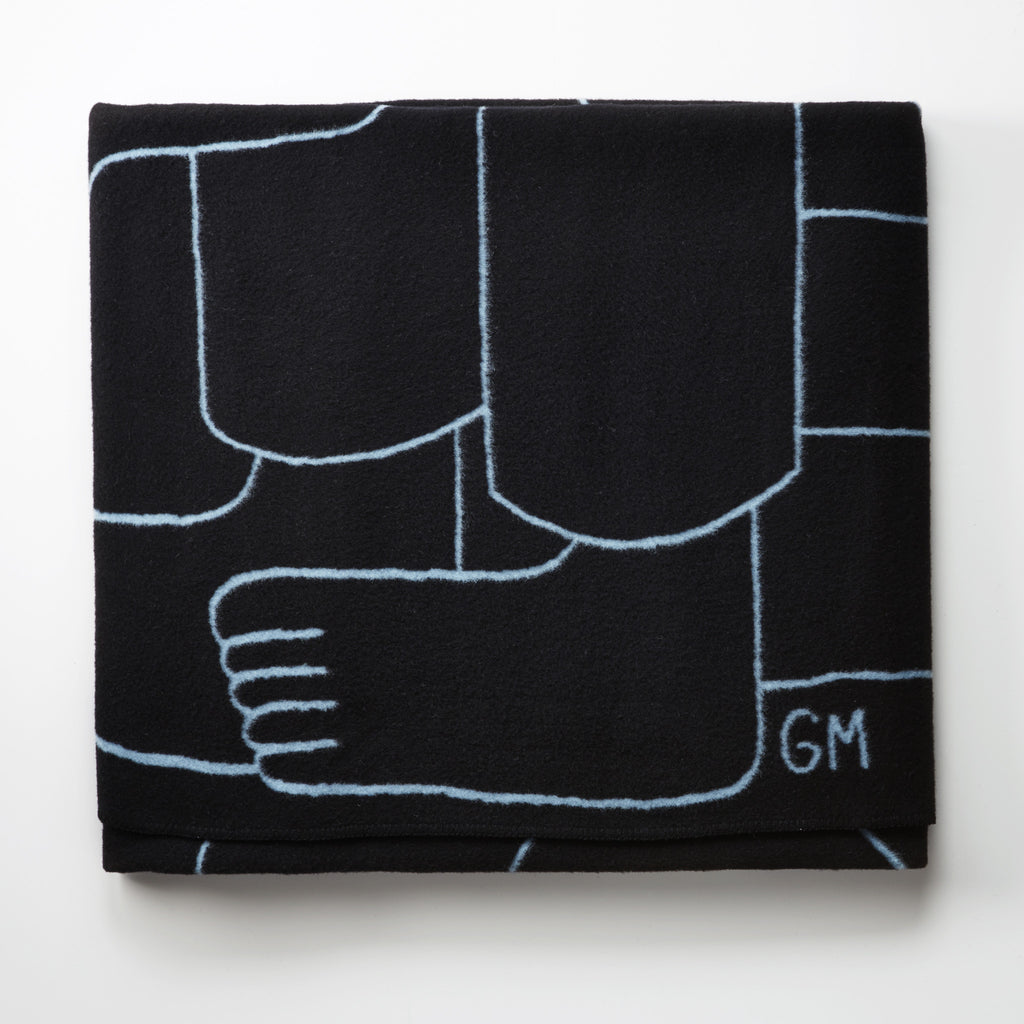 Geoff McFetridge and The Standard, blankets