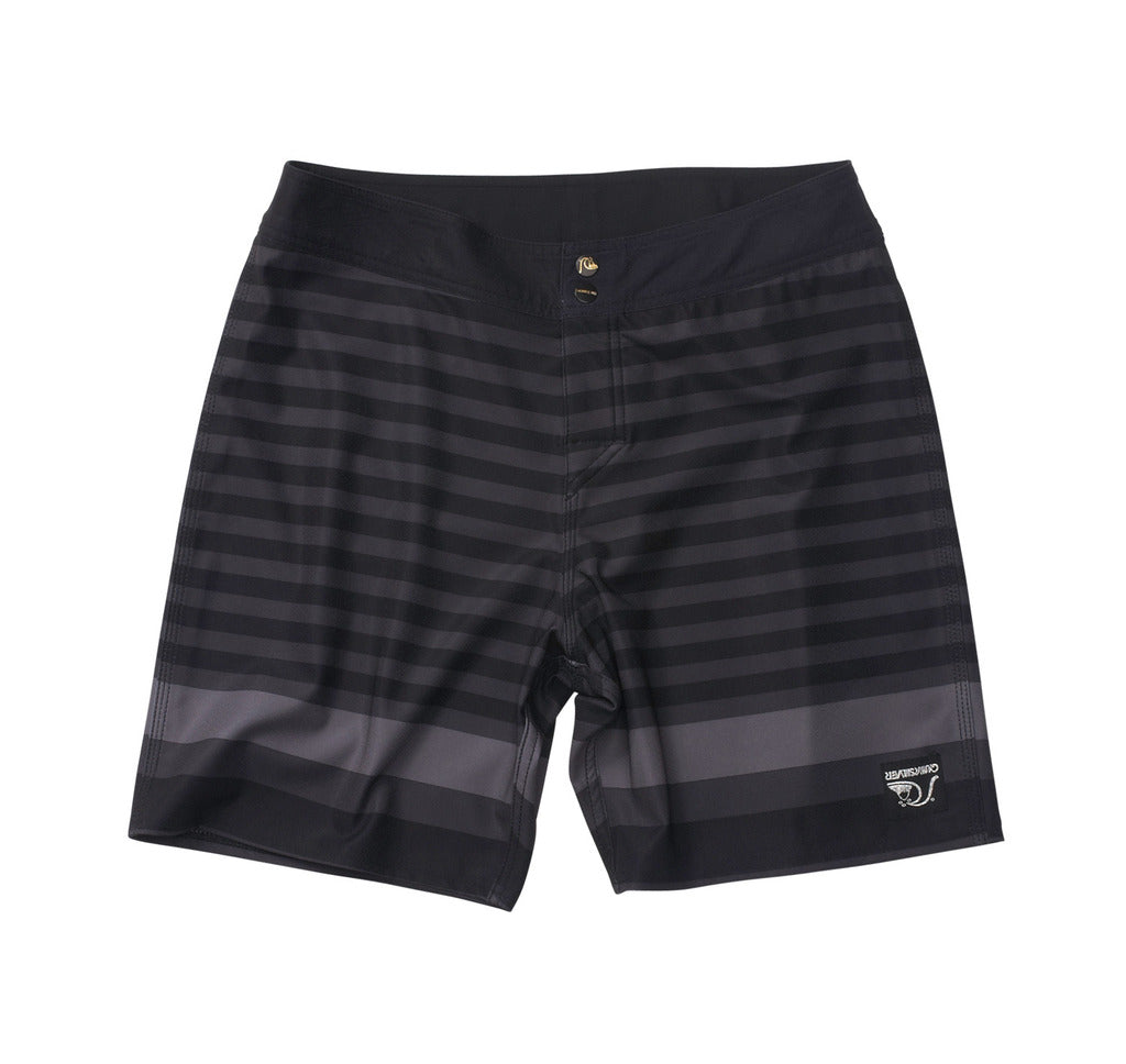 Standard / Quiksilver Black and Grey Biarritz Boardshorts