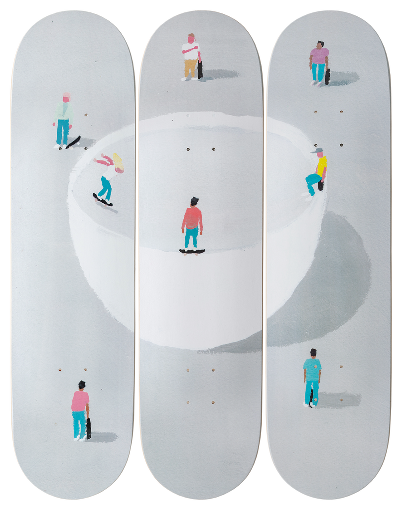 Jean Jullien x The Skateroom Tryptic
