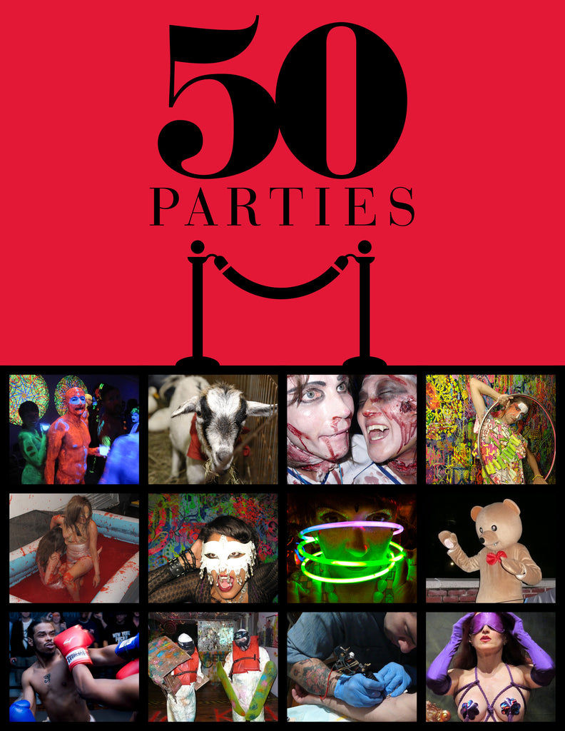 50 Parties by Ryan McGinness