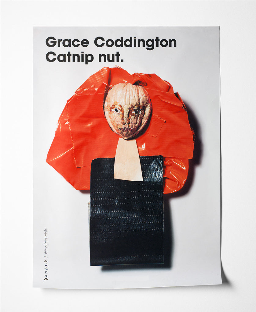 Fashion Is Nuts Grace Coddington Poster