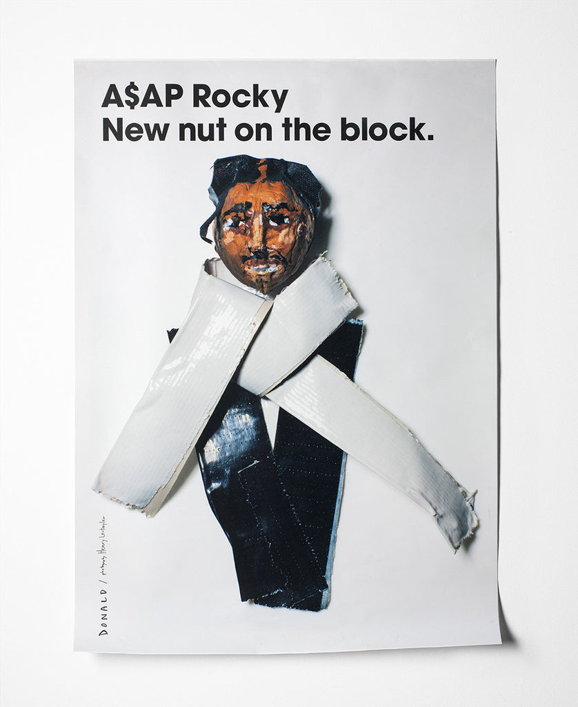 Fashion Is Nuts A$AP Rocky Poster