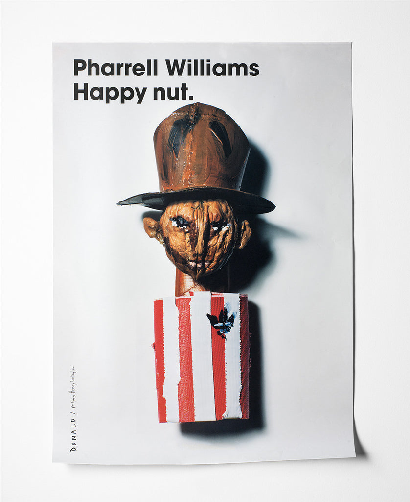 Fashion Is Nuts Pharrell Williams Poster