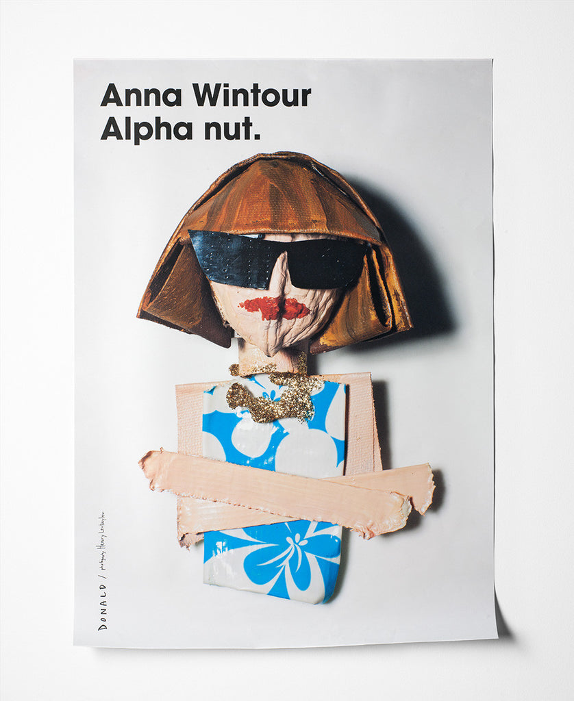 Fashion Is Nuts Anna Wintour Poster