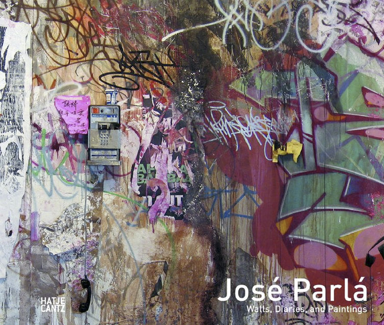 Wall, Diaries, and Paintings by Jose Parla