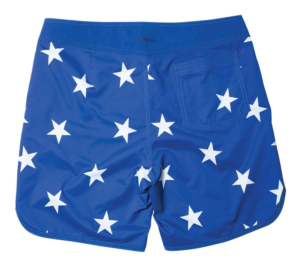 Standard / Quiksilver OG Scallop Blue and Grey Stars Boardshorts