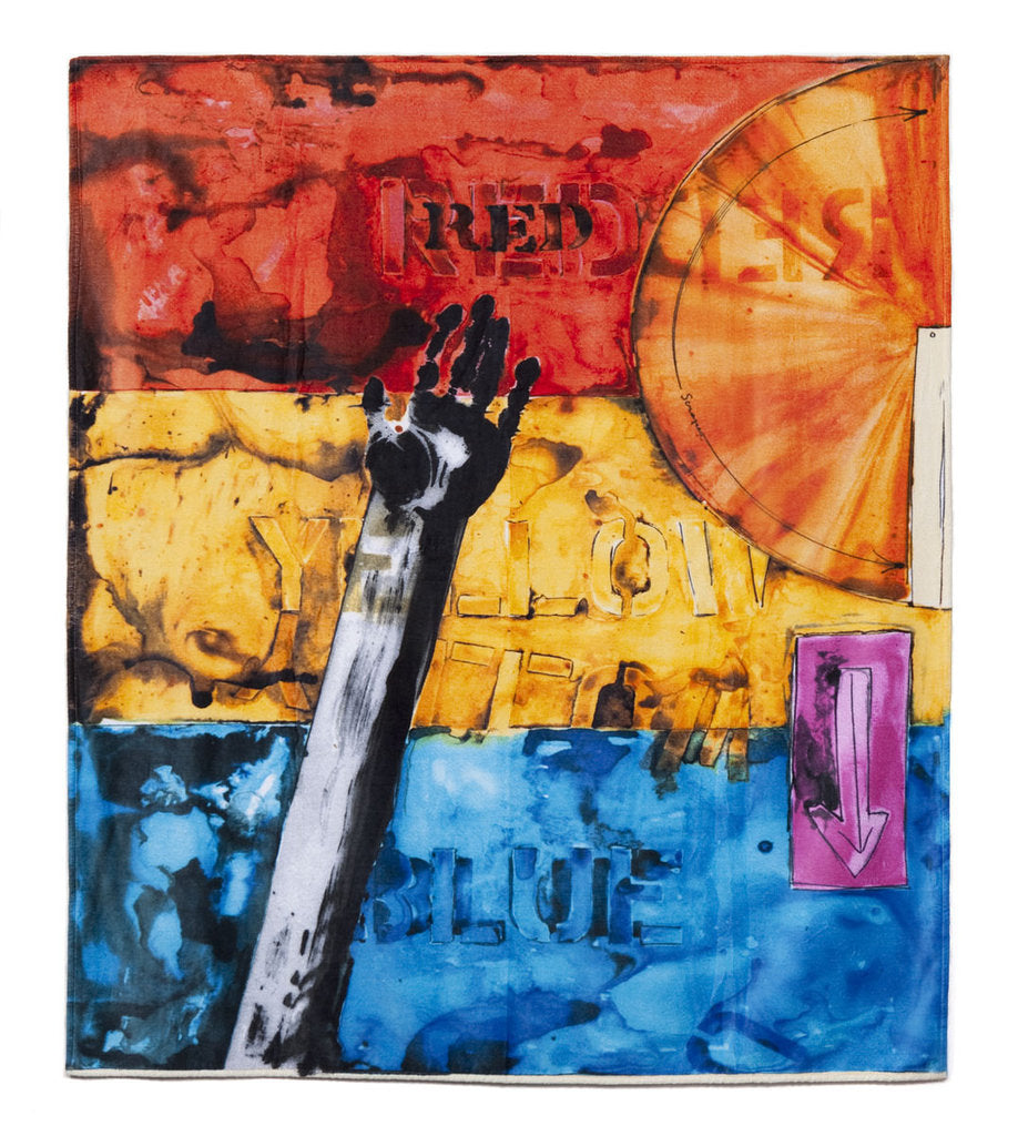 Jasper Johns Beach Towel