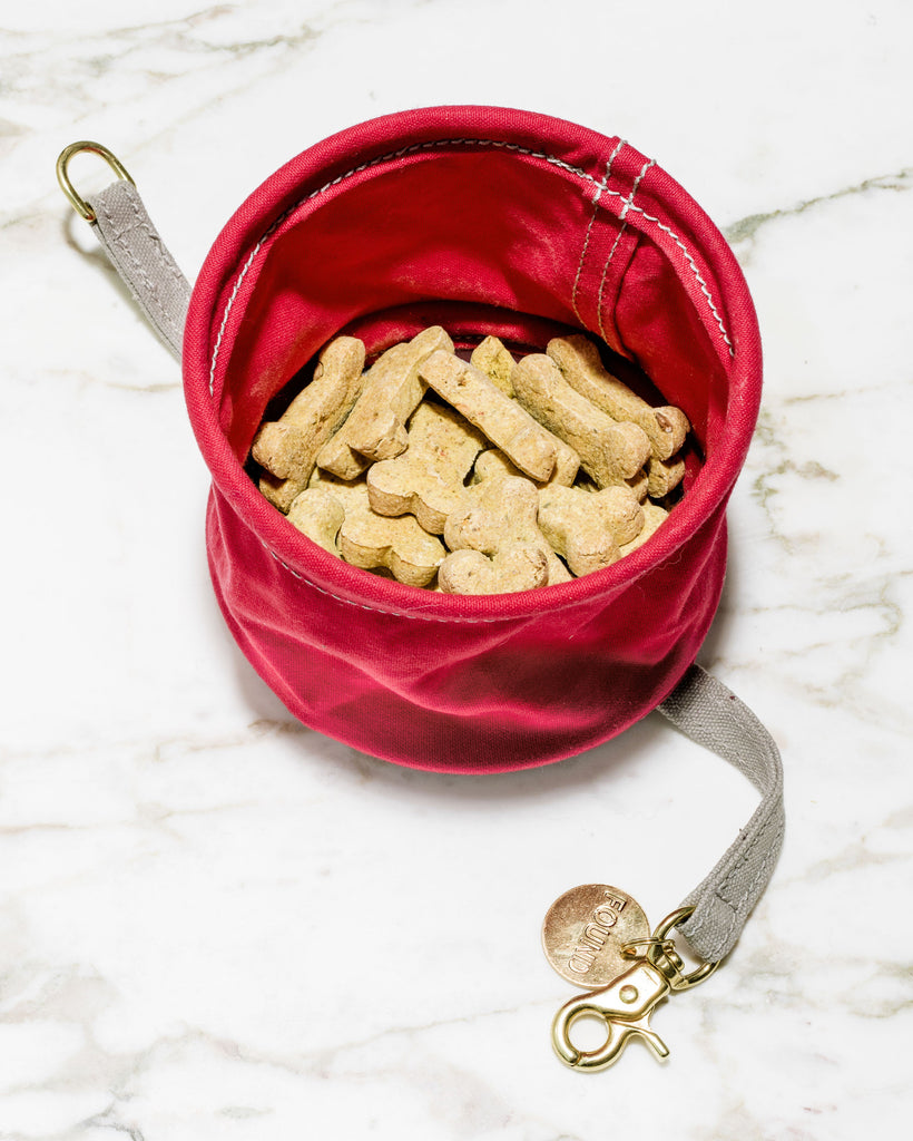 The Standard x Found My Animal Canvas Travel Bowl