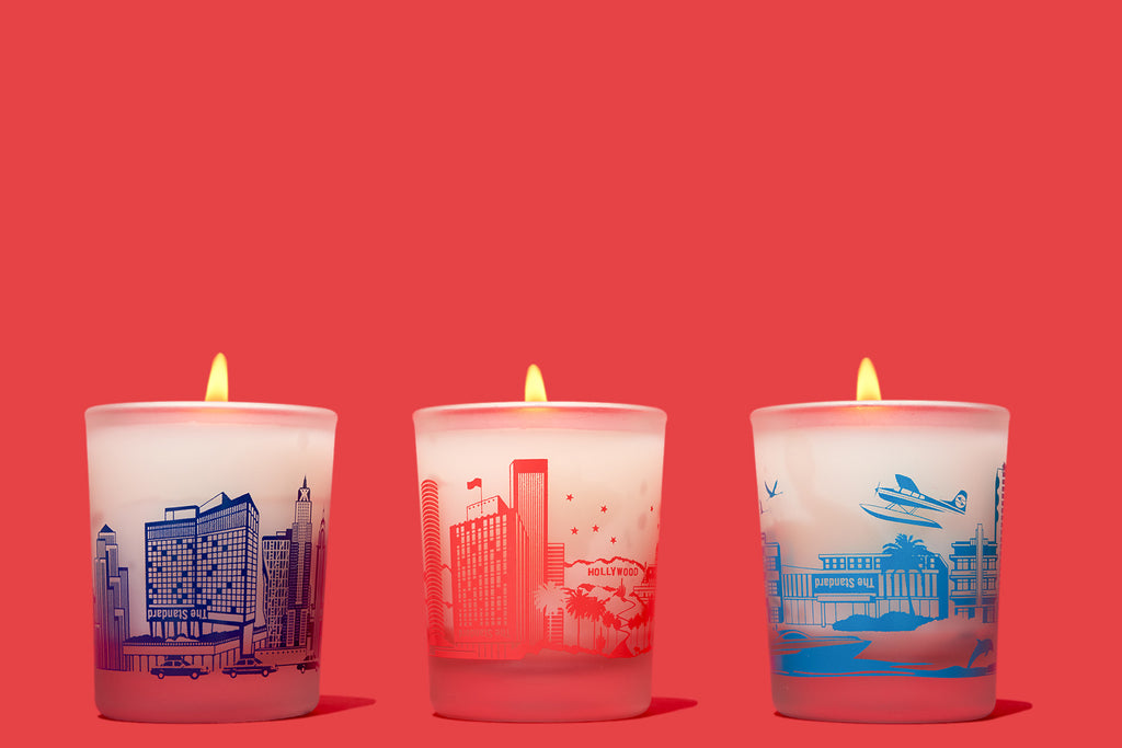 Maison Francis Kurkdjian for The Standard, Mini Trio Candle Set