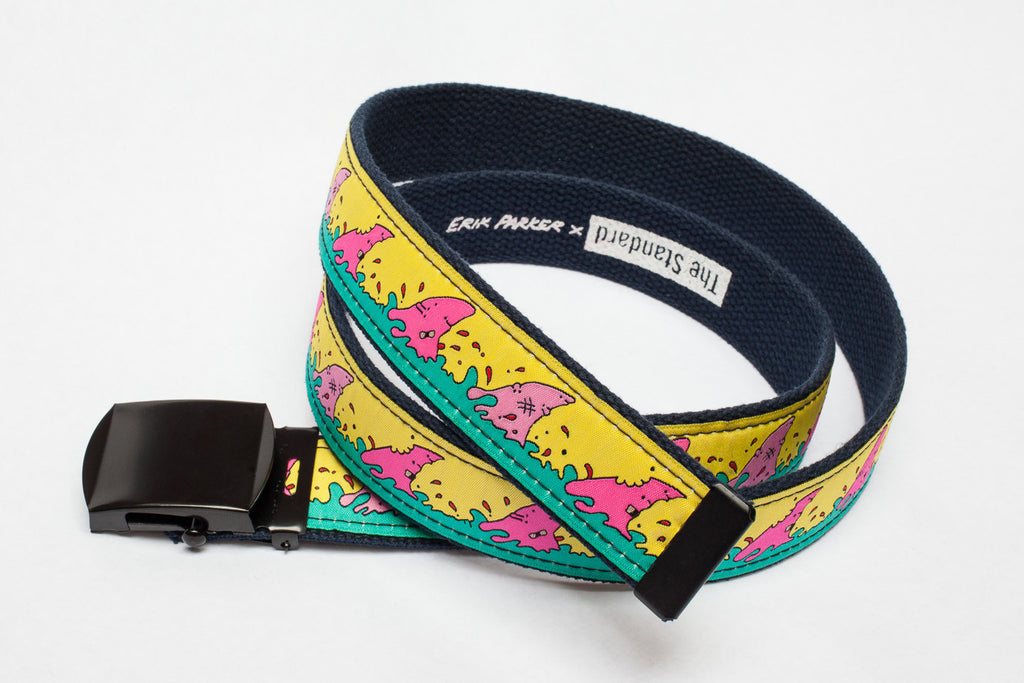 Erik Parker x Standard Cotton Web Belt