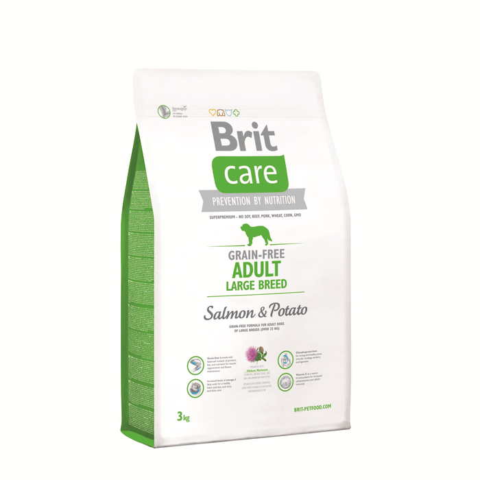 Brit Care Adult Large Breed Salmon - Clínica Veterinaria Chicureo