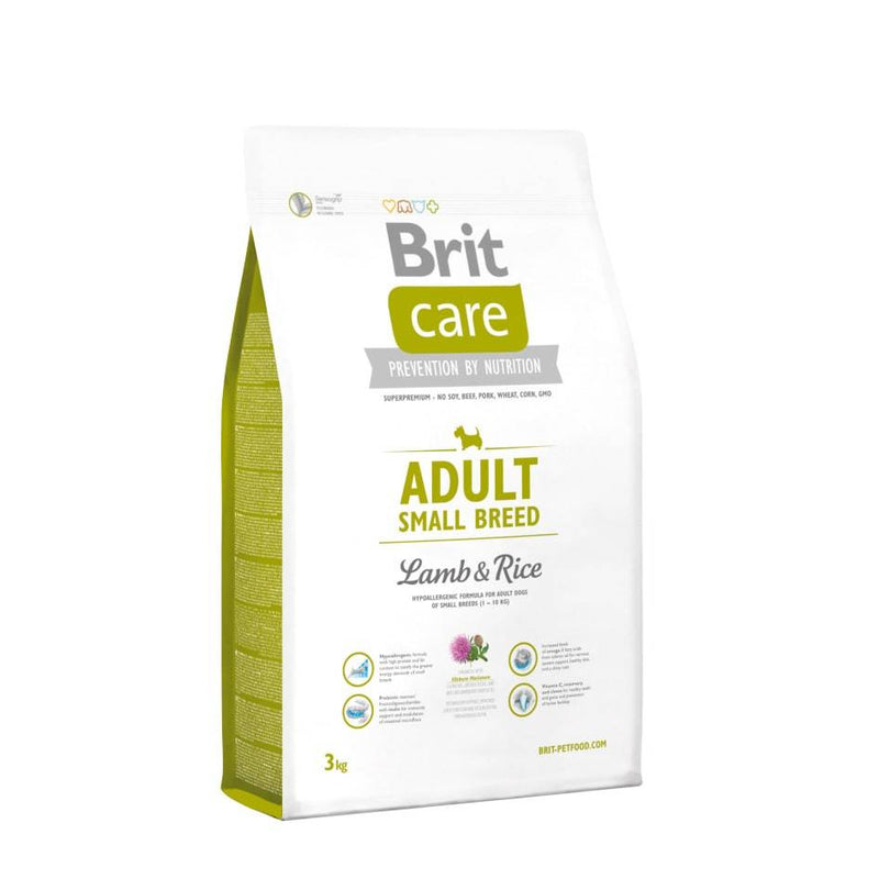 Brit Care Adult Small Breed Cordero - Clínica Veterinaria Chicureo