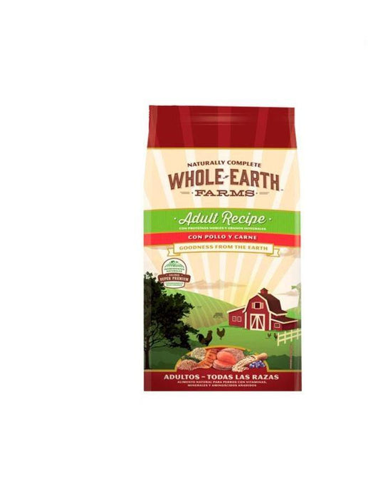 Alimento natural para perro adulto Whole Earth Farms: Pollo y Carne