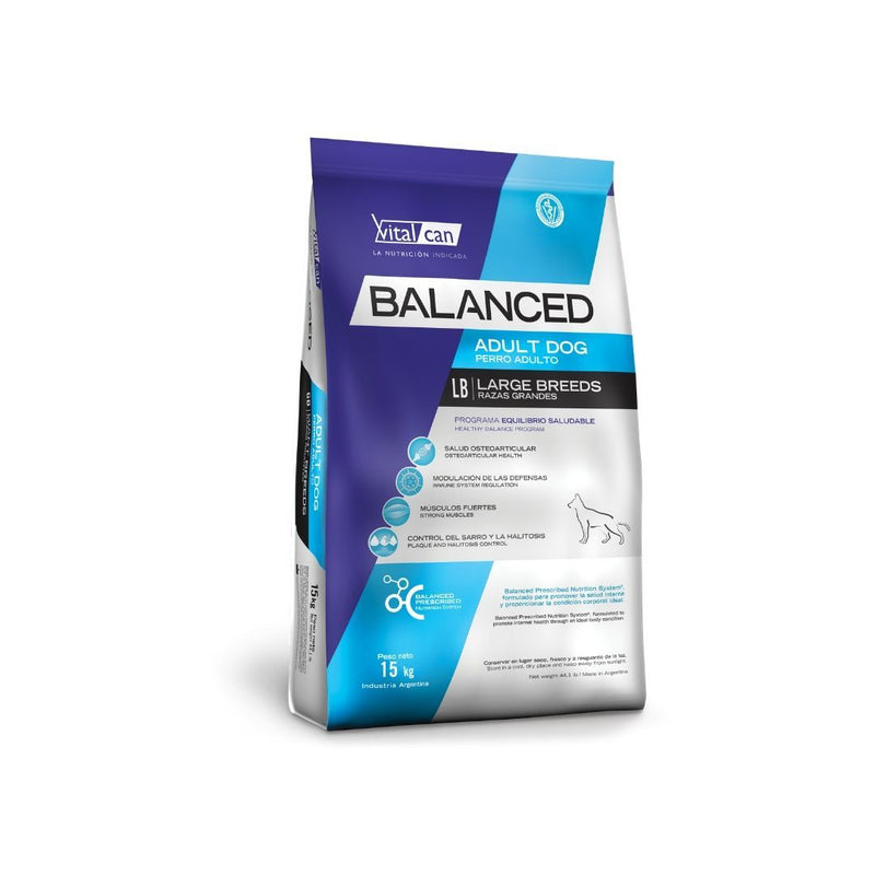 Vital Can Balanced Perro Adulto Raza Grande +3Kg REGALO