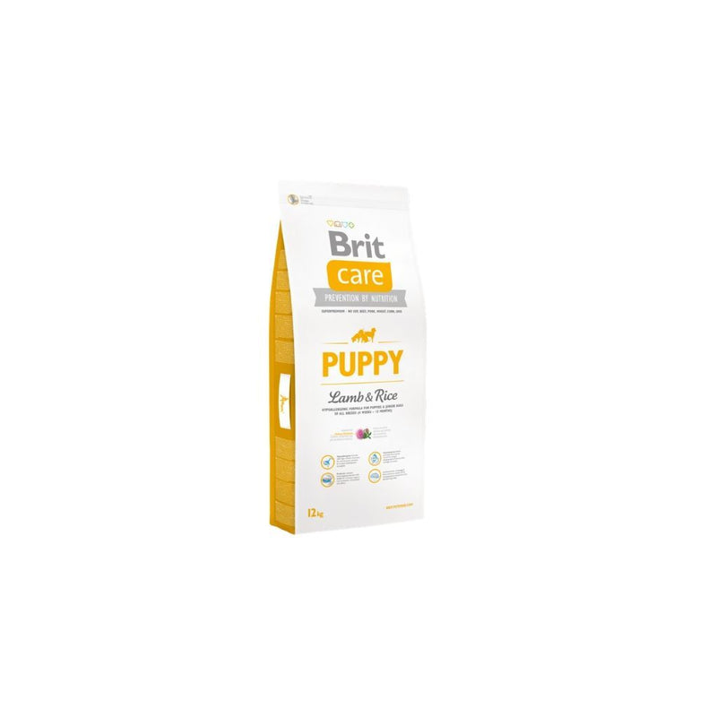 Alimento para perros Puppy Cordero Brit Care. Bulldog, Poodle, Pug, Golden retriever visita veterinaria en chicureo alimentos