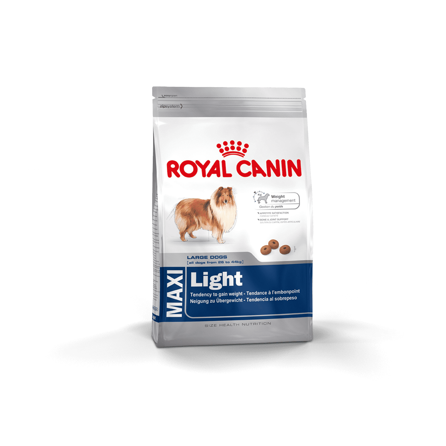 Royal Canin Maxi Light 15Kg - Clínica Veterinaria Chicureo