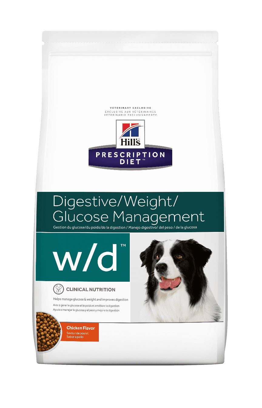 Hills Prescription Diet W/D - Clínica Veterinaria Chicureo