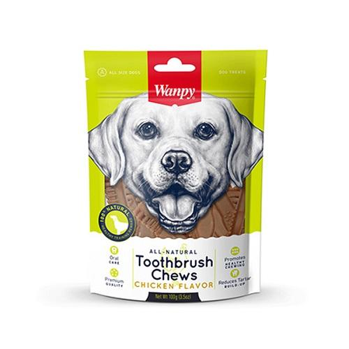 Wanpy Snack Perros Toothbrush Chews 100g