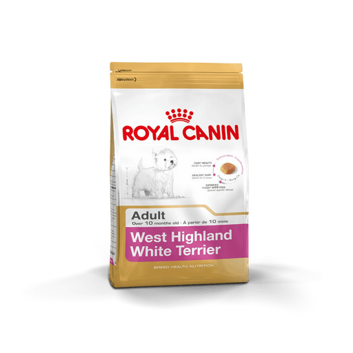 Royal Canin West Highland White Terrier - Clínica Veterinaria Chicureo