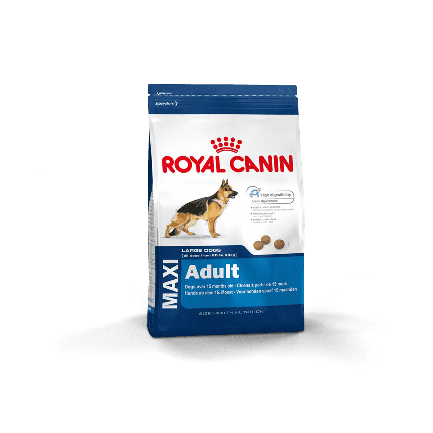 Royal Canin Maxi Adult 15Kg - Clínica Veterinaria Chicureo