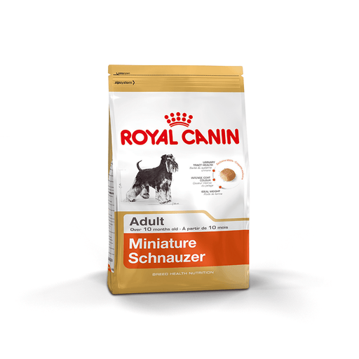 Royal Canin Miniature Schnauzer - Clínica Veterinaria Chicureo