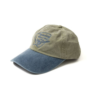 Logo Hat - Army/Denim
