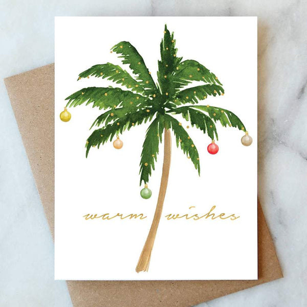 Christmas Palm Tree Card