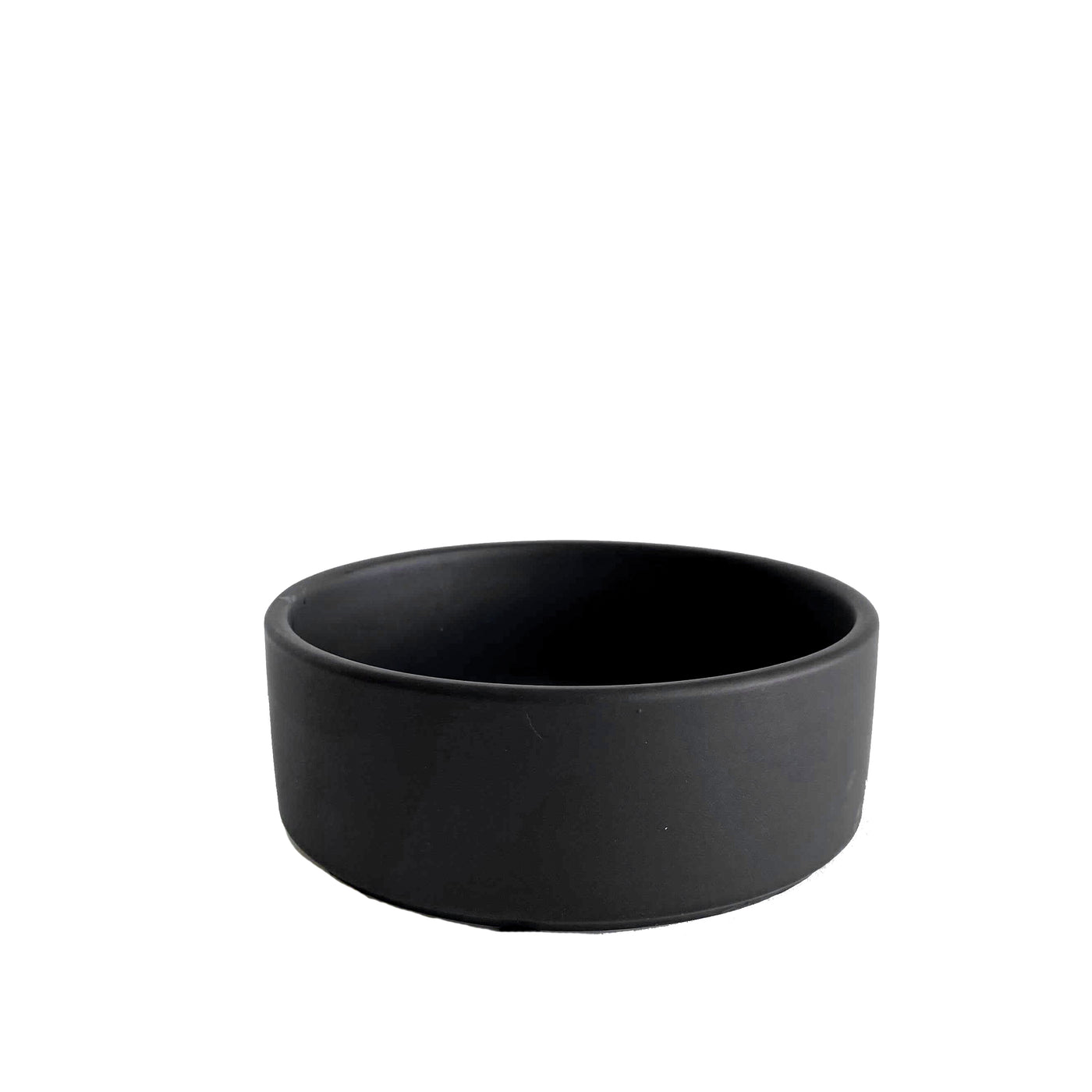 Matte Black Straight Edge Planter