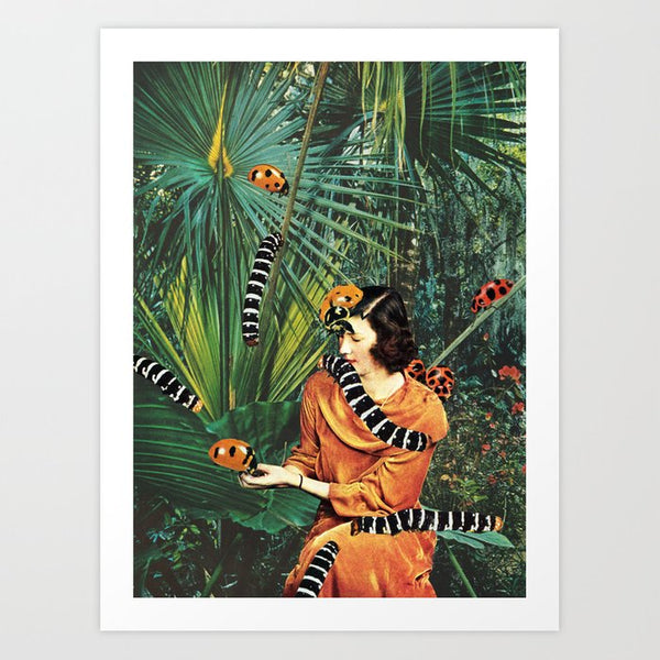 Native Species Art Print