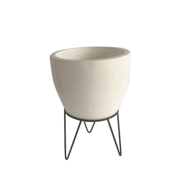 Peppercorn Planter with Stand