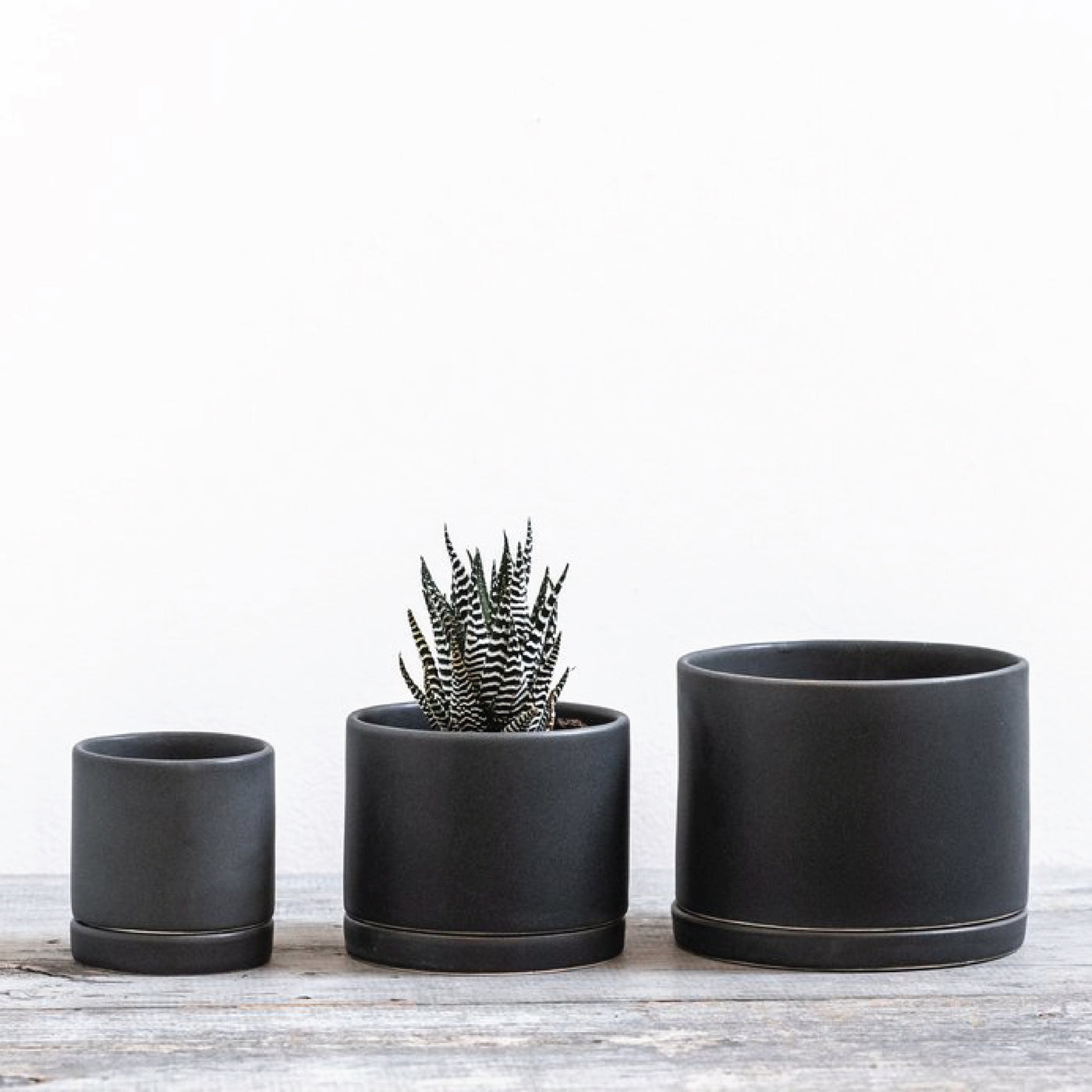 Charcoal Handmade Ceramic Planter