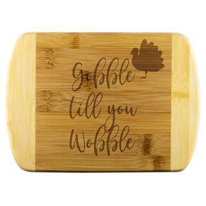 Gobble Cutting Board - Sassy Bassett Designs