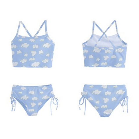 In The Clouds Tankini - Sassy Bassett Designs