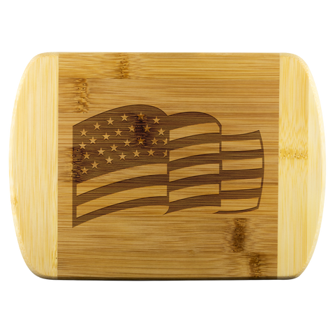 US Flag Cutting Board