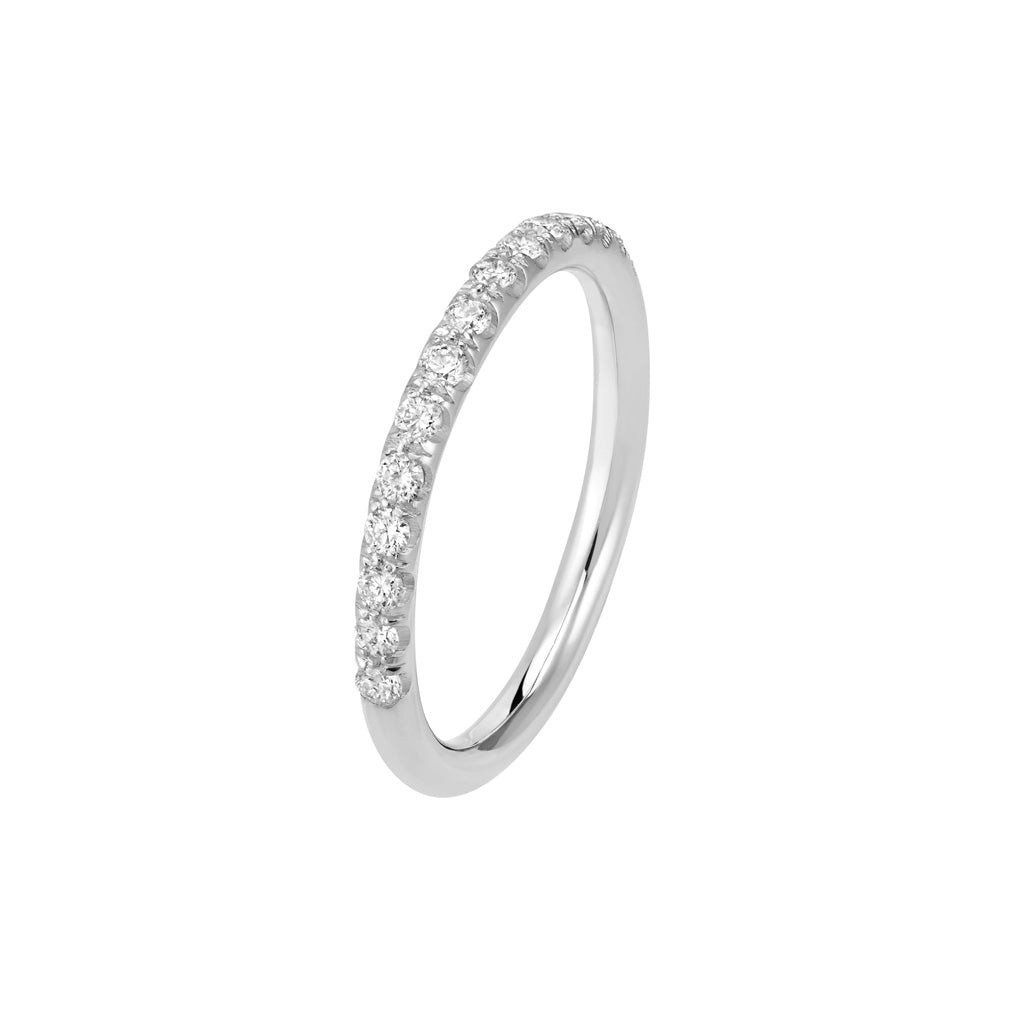 Description de l'image | Or blanc palladié 18k
