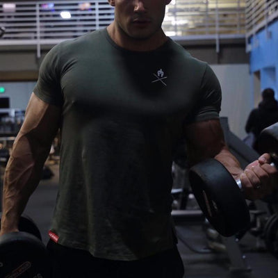 Casual Bodybuilding Tee - Gym Music