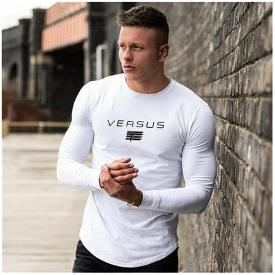 Versus Long sleeve T-shirt - Gym Music