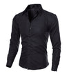 GM Casual Slim Fit Shirt - Gym Music