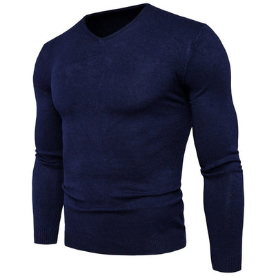 GM V-neck Sweater