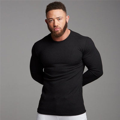 Slim Fit Pullover - Gym Music