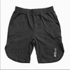 Black Cotton Shorts - Premium Quality - Gym Music