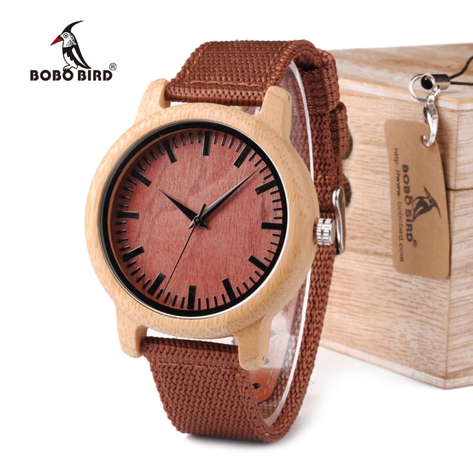 Rose Bamboo Watch