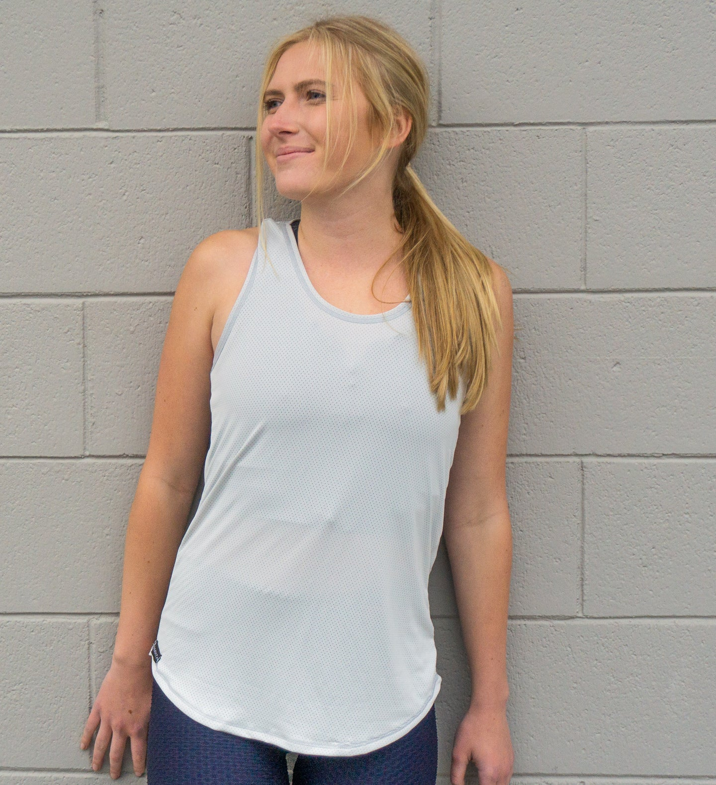 GREY FREESTYLE TANK TOP