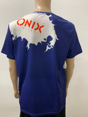 Purely Pickleball Blue Onix Shirt- Men