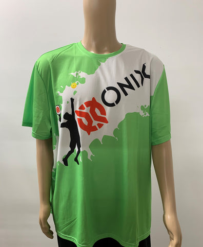 Purely Pickleball- Green Onix Shirt- Men