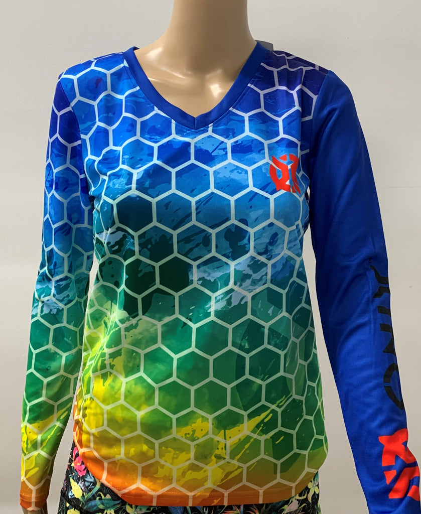 Purely Pickleball- Long Sleeve Onix - Women