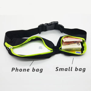 DUAL POCKET RUNNING BELT - Buy 2 Get 1 Free(You need add 3 to Shopping Cart)