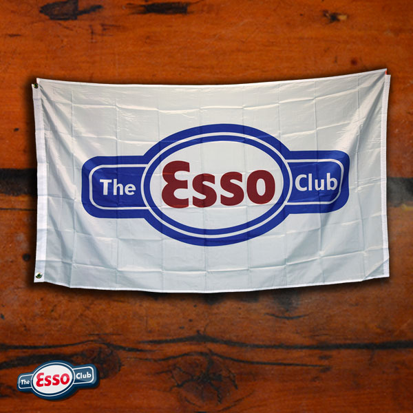 The Esso Club Logo Flag w/ Grommets