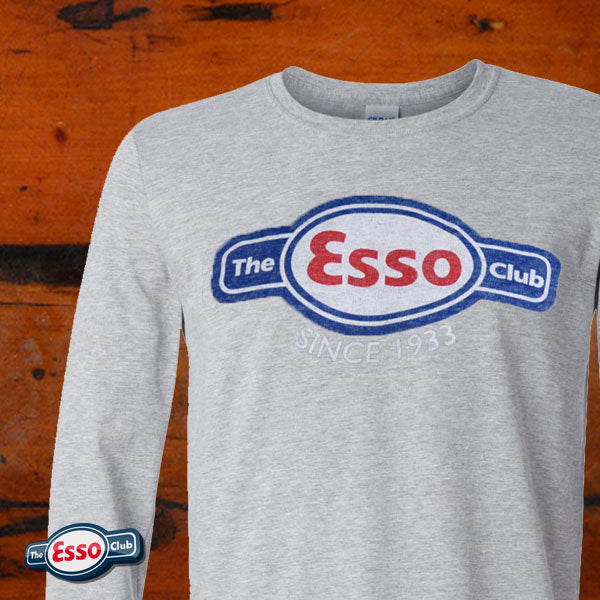 The Esso Club Classic Faded Long Sleeve T-Shirt
